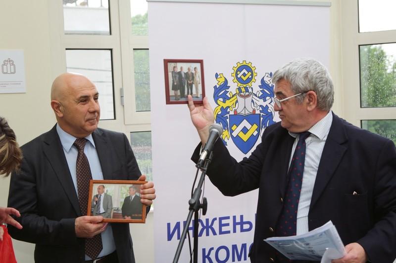 проф. Д-р Драгослав Šumarac и инж. Димитър Начев
